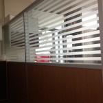 çizgili cam kısa bölme 150x150 Kısa Seperatör Bölme Duvar