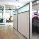 kısa bölme duvar sistemleri 150x150 Kısa Seperatör Bölme Duvar