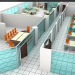 ofis bölme sistemleri proje