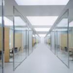 şeffaf camlı ofis bölmeler