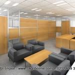 cam ofis bölme duvar sistemleri fiyatları