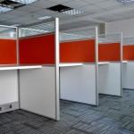 Çağrı merkezi ofis bölme duvar sistemleri