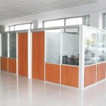 Yarım camlı ofis bölme duvar