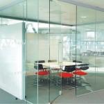 tek cam ofis bölme sistemleri