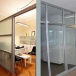 alüminyum ofis bölme duvar sistemleri
