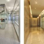 tek cam çift cam ofis bölme sistemleri